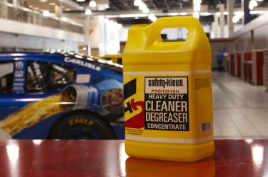 Degreaser in the garage
